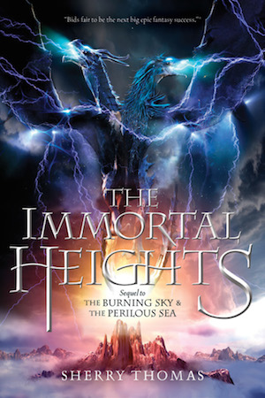 Image result for The Immortal Heights by Sherry Thomas