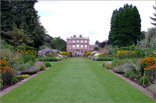 Newby Hall Herbaceous Border